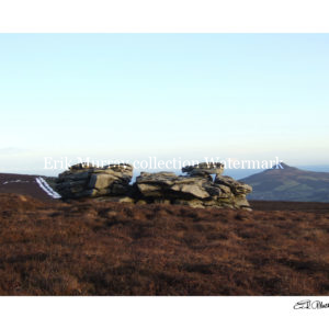 Prince William's Seat & Sugarloaf (with boarder & signature)