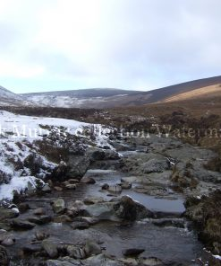 Wicklow Stream Snow 2010 no boarder
