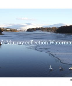 Connemara Snow 2 lake 2010 with boarder & signature