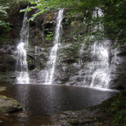 Glenariff Waterfall no boarder
