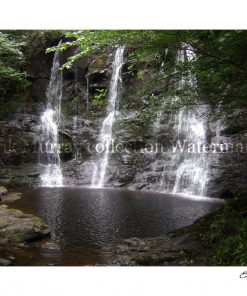 Glenariff Waterfall with boarder & signature