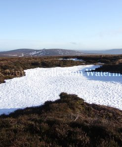 Wicklow Mountains Snow 2010 with boarder & signature