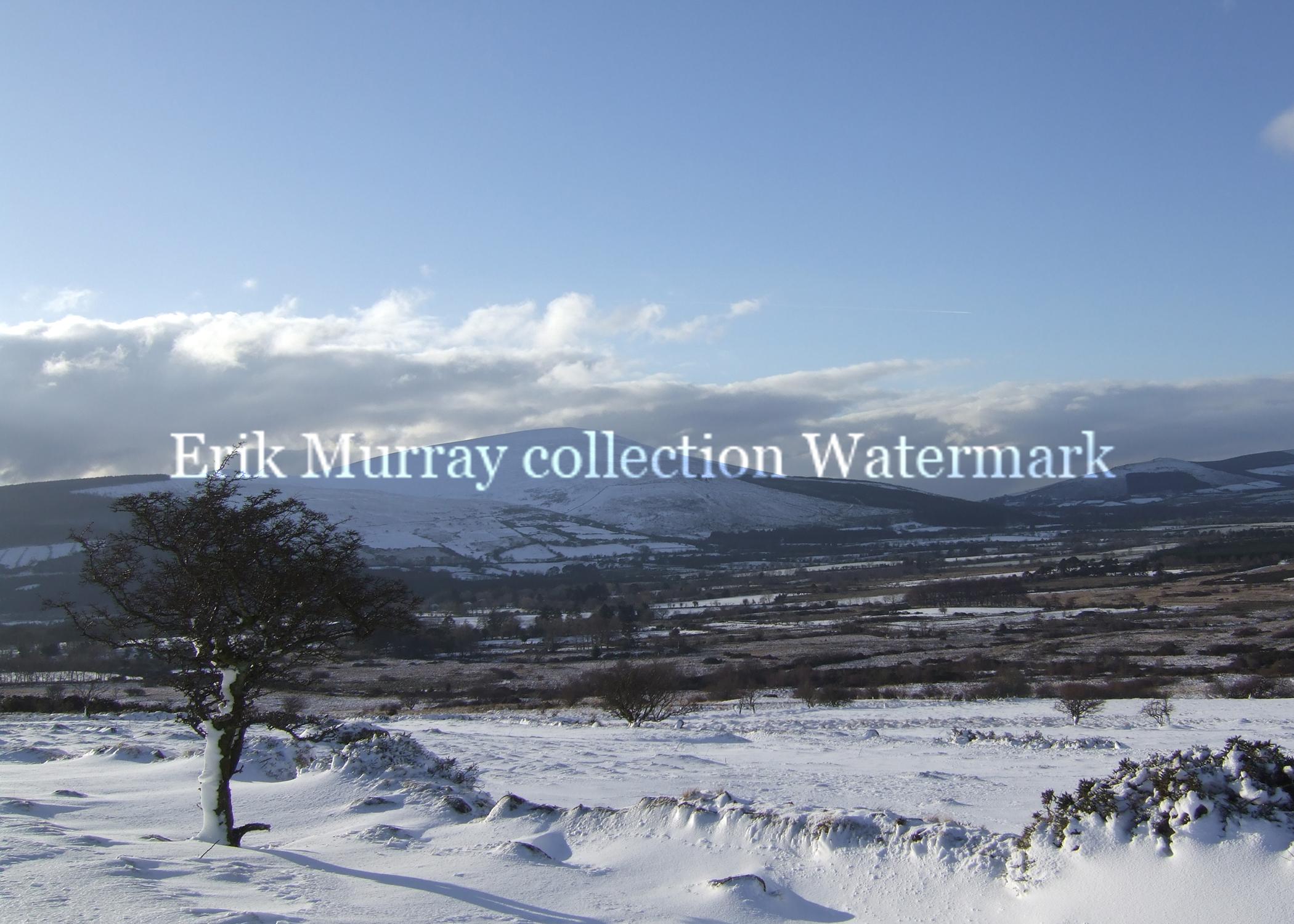 Wicklow Mountains Snow 2010 (Image 4) no boarder