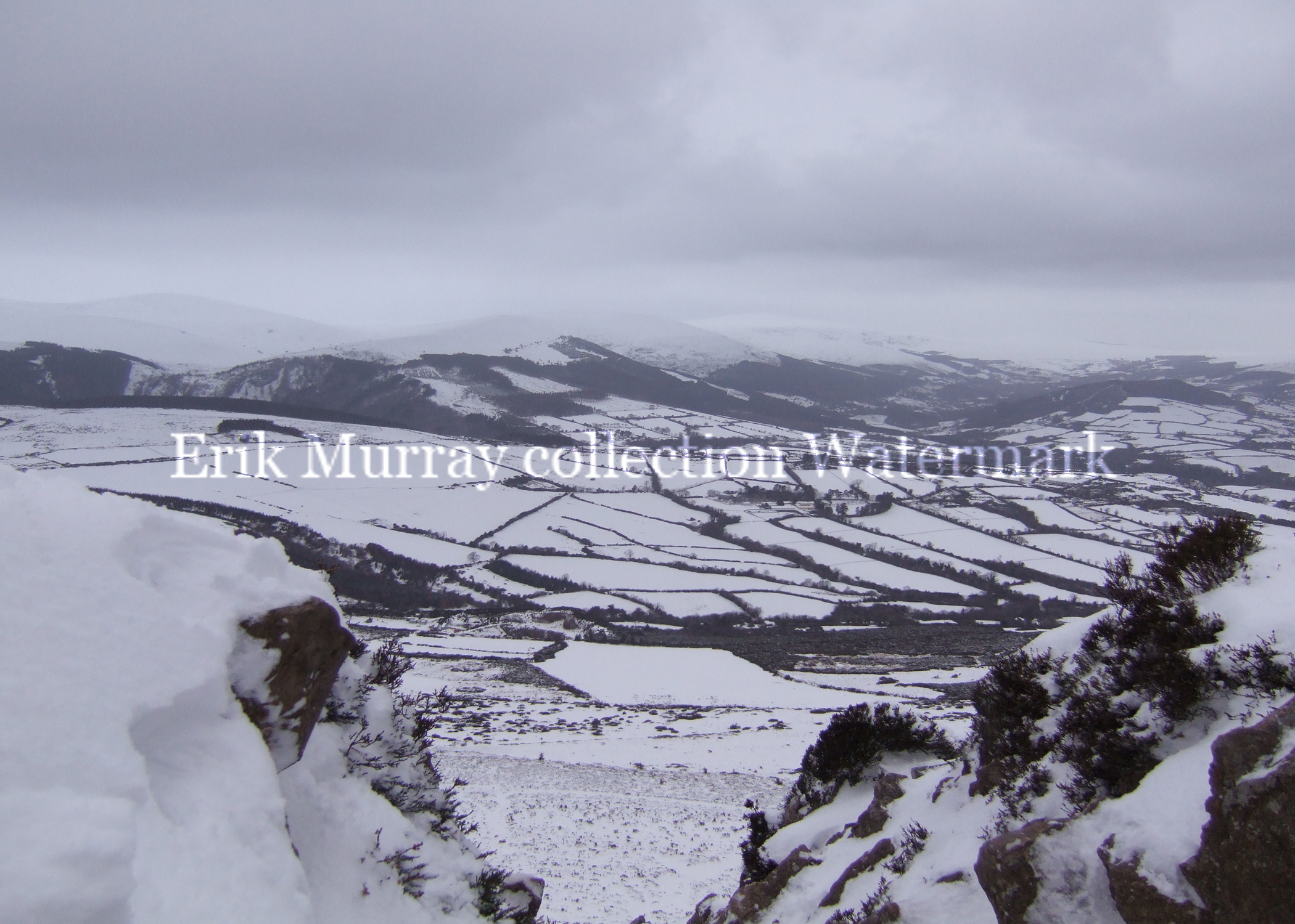 Wicklow Mountains Snow 2010 (Image 5) no boarder