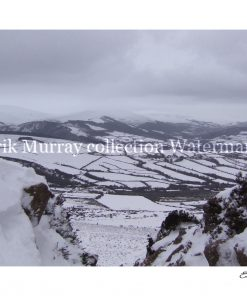 Wicklow Mountains Snow 2010 (Image 5) with boarder & signature