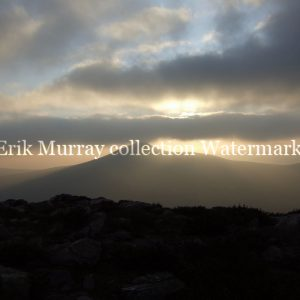 wicklow mountains silhouette no boarder