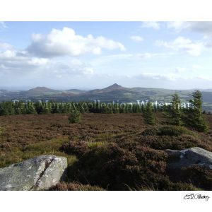 Wicklow Mountains (Image 4) with boarder & signature
